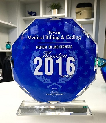 Houston-Award-Tyvan-Medical-Billing-2016